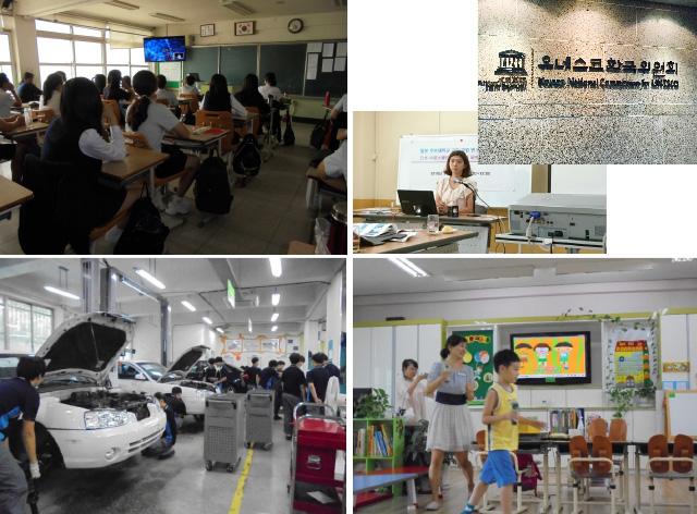 韓国ユネスコスクール訪問